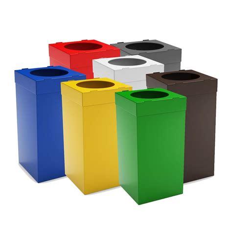 poubelle bureau design atlas poubelle tri sélectif pour bureau 80 litres