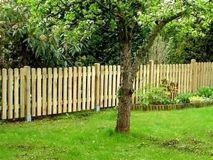 Gartenzaun Weiß Holz : gartenzaun holz staketenzaun ~ Michelbontemps.com Haus und Dekorationen
