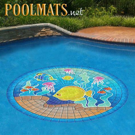 tropical fish poolsaic removable pool mosaic art