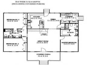 Split Level Ranch Floor Plans by Ranch Home Floor Plans Without Split Bedrooms Home Home