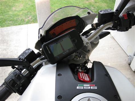 motorcycle iphone mount how to construct an iphone motorcycle mount edible apple
