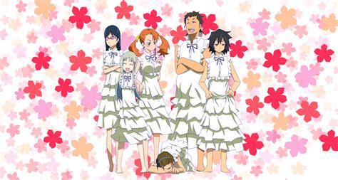 nama anime anohana anohana wallpaper and background image 1500x802 id 298727