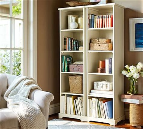 Pottery Barn Bookshelf by Narrow Bookcase Pottery Barn