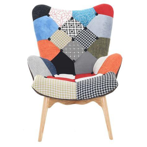 fauteuil malm 246 patchwork koya design
