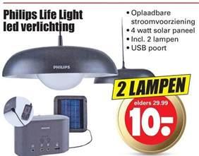 philips solarl folder aanbieding bij dirk details