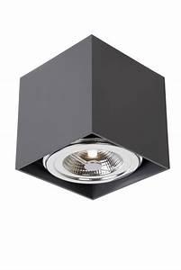Spot Carré Led : spot plafond led blanc gris orientable carr 12w ~ Edinachiropracticcenter.com Idées de Décoration