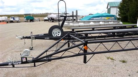 Boat Trailer Axle Lift by 18 To 24 Hoosier Classic Pontoon Center Lift Trailer