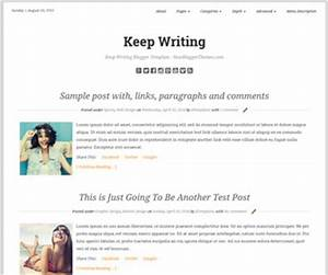 keep writing blogger template newbloggerthemescom With free blogger templates for writers
