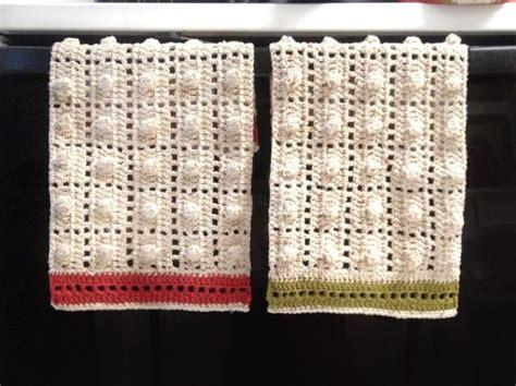 the 25 best crochet kitchen towels ideas on pinterest