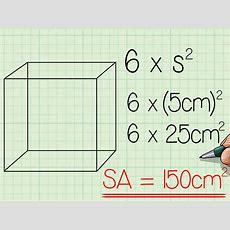Come Calcolare La Superficie Totale Di Un Cubo