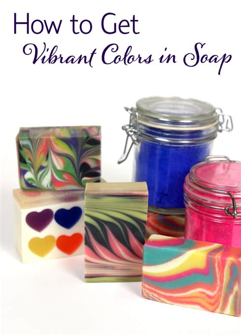 How To Get The Color by How To Get Vibrant Colors In Soap Soap