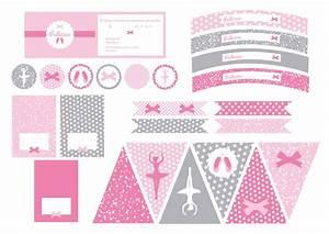 Sweet Party Day : ballerine d coration printable anniversaire sweet ~ Melissatoandfro.com Idées de Décoration