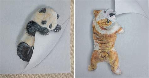 animal drawings   leap   page bored panda