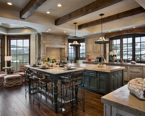 Distressed Kitchen Cabinets Ideas, Pictures, Remodel And Decor