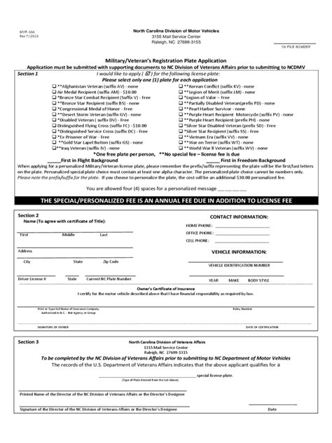military veterans registration form   templates