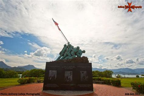 iwo jima memorial kaneohe marine corps base oahu hawaii