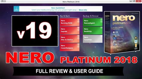 A collection of tools to make media and disc management professional and easy. Nero Recode Review / Dvd Recoding / This video is part of ...