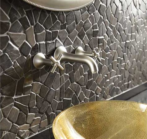 pebble tile mosaics solistone tiles interior design inspiration designs