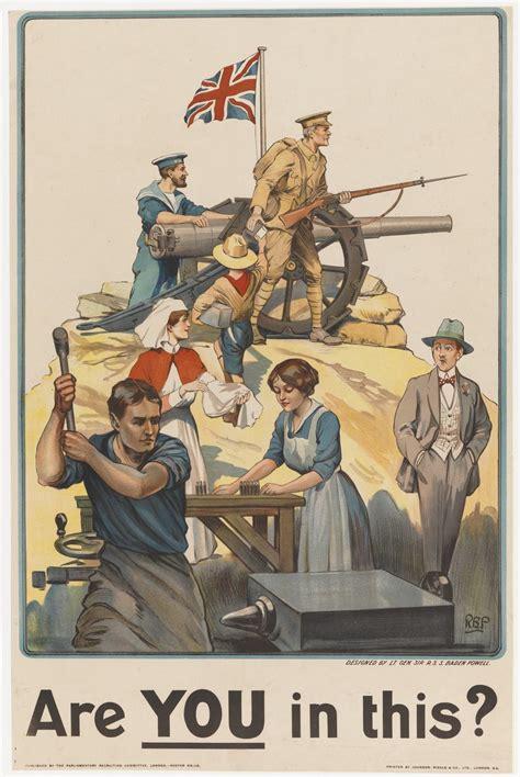 poster     british world war  circa
