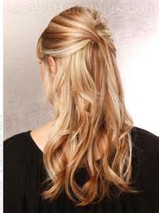Half-Up Hairstyles for Long Hair