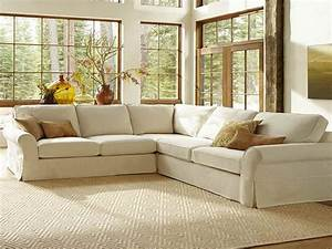 Furniture pottery barn sectional sofas design with for Pottery barn style sectional sofa