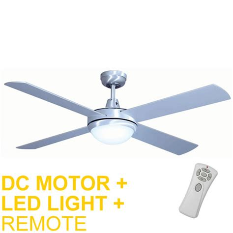 remote ceiling fan with led light mercator grange dc ceiling fan w light remote 52 quot in