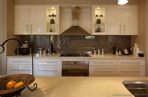 pictures  kitchens modern cream antique white kitchens