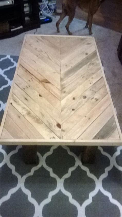 diy pallet chevron coffee table pallet furniture plans