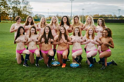 Women's rugby team strips off for naked charity calendar - Liverpool Echo