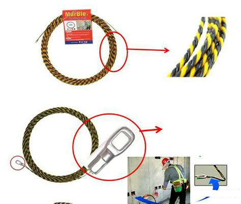 Running Pull Cable Wire Pulling Tools Electrical Work