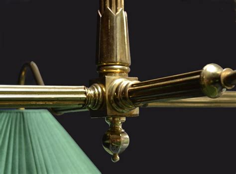 antique pool table light brass framed antique billiard snooker pool table light