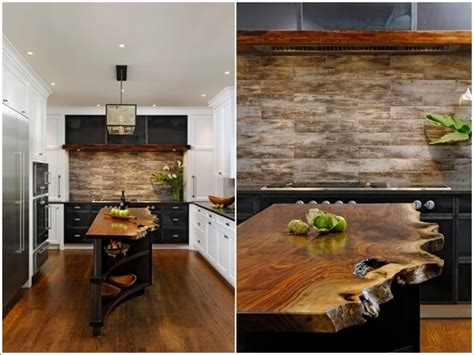 live edge kitchen island 187 15 ways to decorate your home with live edge wood 7136