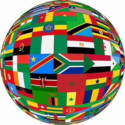 Clipart Flags Africa Sphere Soccer Animated Trump