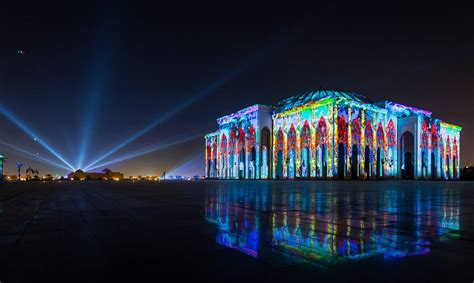 magnificent lights parade 2017 light festival begins in sharjah the filipino times