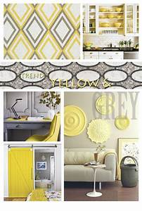 Sincerely Your Designs: Decorating With Yellow And Grey
