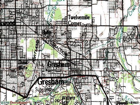 Gresham Oregon Zip Code Map.Gresham Oregon Zip Code Map