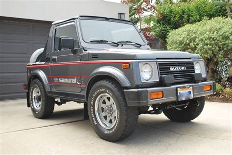 Suzuki Samari by Trail Tested Time Machine 1987 Suzuki Samurai Jx Se