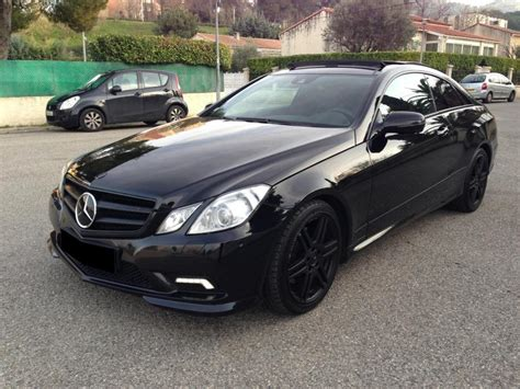 troc echange mercedes  coupe pack amg full black