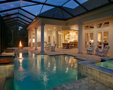 mediterranean house plans with pool 632 riviera drive naples fla mediterranean pool ta by boyatt plans