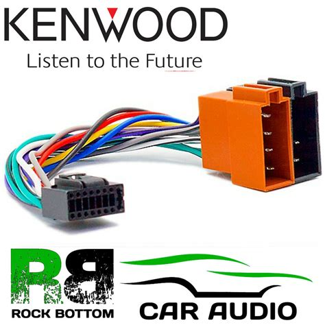 Kenwood Kdc Car Radio Stereo Pin Wiring Harness