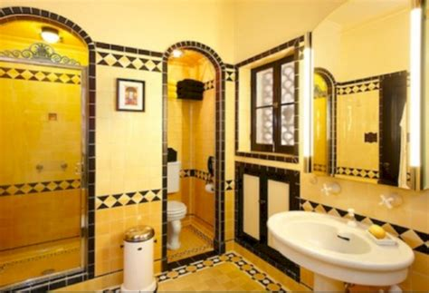 yellow tile bathroom paint colors ideas roundecor