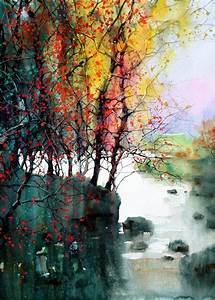Beautiful Watercolor Landscapes (12 pieces) - My Modern ...