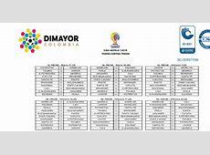 Liga Águila Dimayor confirmó el calendario de partidos