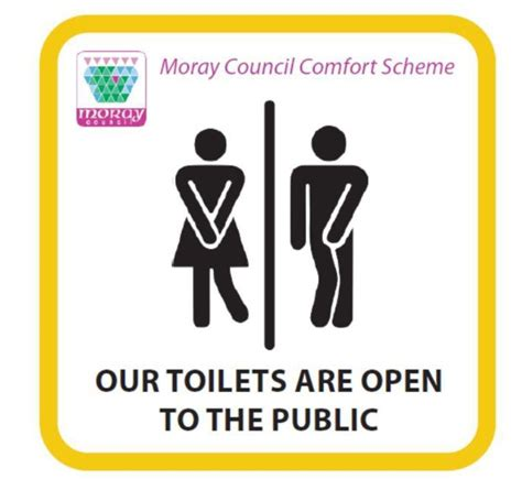 Rude Bathroom Signs by Toilet Signs Showing And Bursting For The