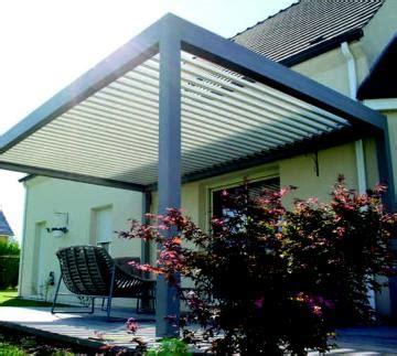 terrassenüberdachung mit lamellen lamellen pergola mit motor antrieb