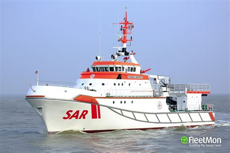 Vessel HERMANN MARWEDE (Rescue vessel) IMO 9282601, MMSI ...