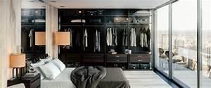 Chambre Avec Dressing   20 Int U00e9rieurs  U00e9l U00e9gants Et Modernes