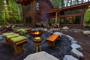50, Best, Outdoor, Fire, Pit, Design, Ideas, For, 2017