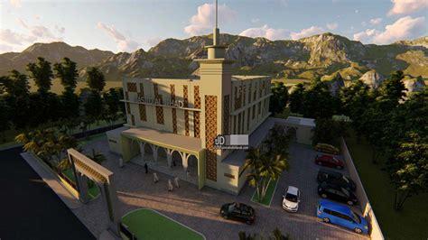 jasa desain masjid  lantai  cikarang bekasi arsitek