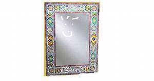 Spiegel 80 X 60 : kleurrijke spiegel mozaiek 80 x 60 cm merel in wonderland ~ Bigdaddyawards.com Haus und Dekorationen